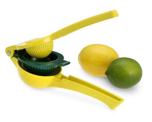 Lime-og-citronpresser-grøn-og-gul