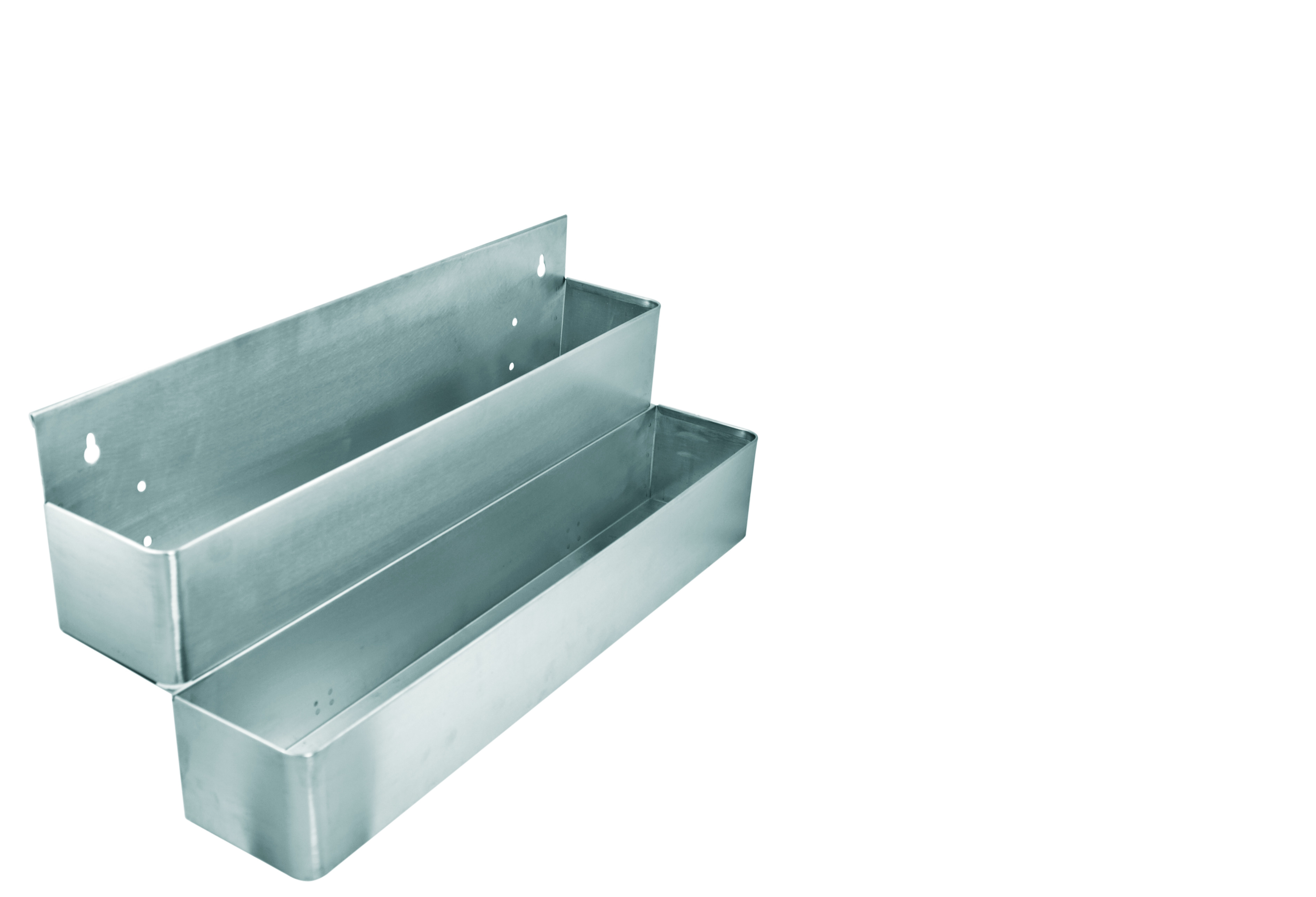 Speed Rack Dobbelt metal - 2x6 flasker