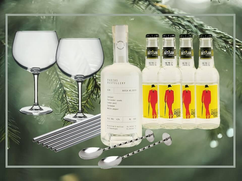 adventgave-gin-radius-barudstyr-artisan-tonic-jule-kalender-tonic-vand-water-mixmeister.dk