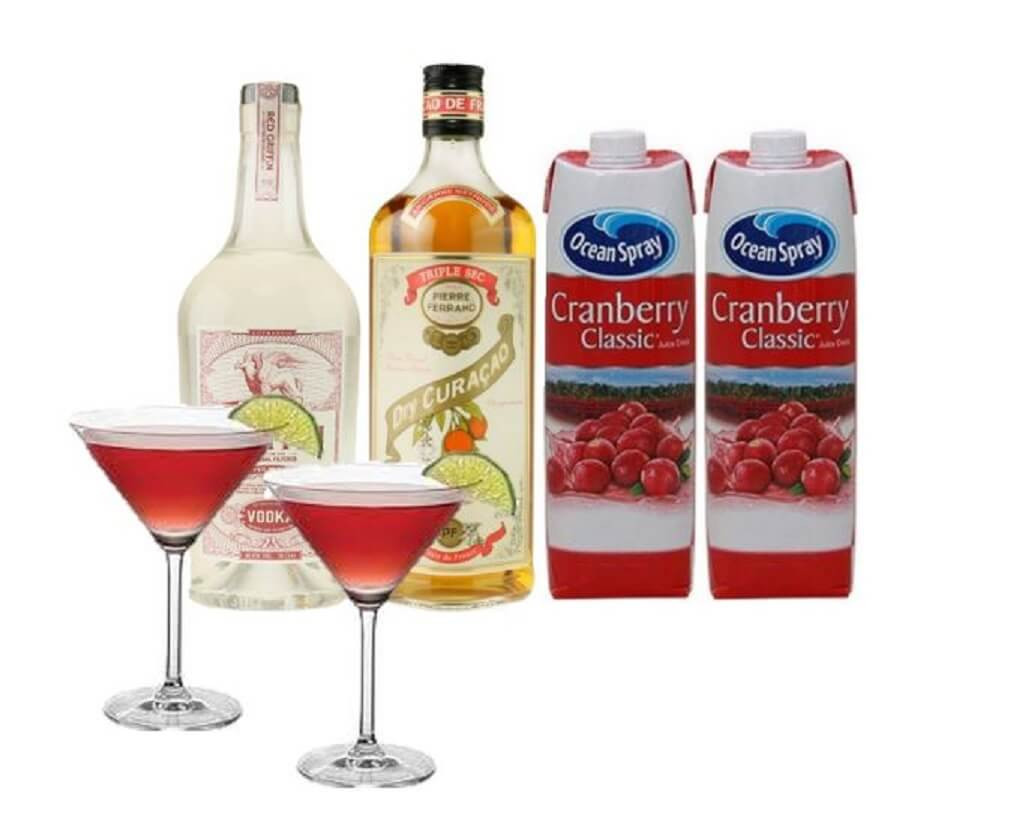 Cosmopolitan-drinkspakke-sex-and-the-city-tøse-aften-drinks-cocktail-mixmeister.dk