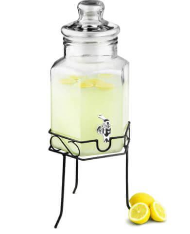 Drinks-Dispenser-m.-tappehane-på-stativ-5,6-Liter