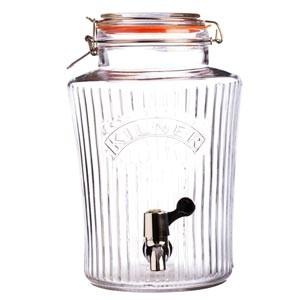 Retro-Kilner-Drinks-dispenser-m.-riller-Orginal-5-Liter