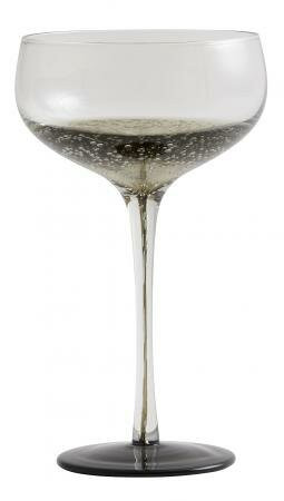 Nordal-Bobble-sort-coupe-cocktailglas-champagne-mixmeister.dk