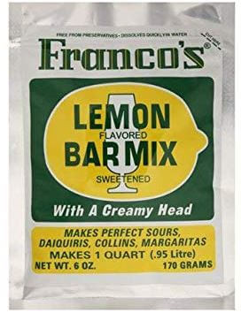 Franco's-Sweet-&-Sour-Mix-Lemon