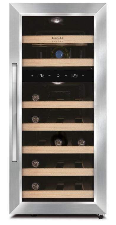 fritstående-vinkøleskab-21-flasker-caso-2-køle-zoner