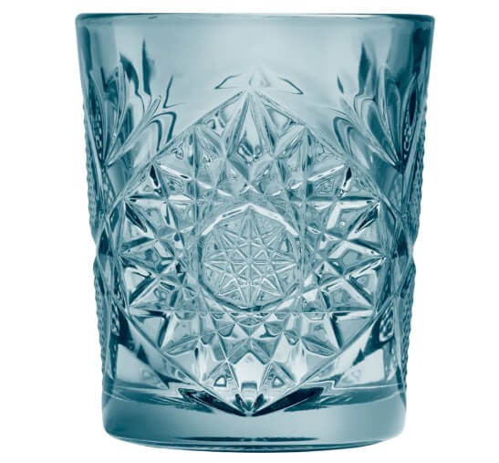 hobstar-libbey-lowball-støvet-blå-drinks-cocktail-glas