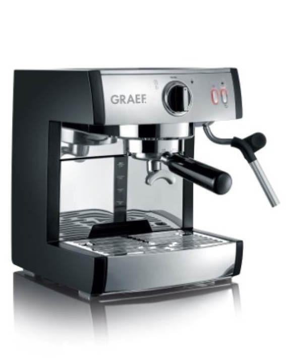 graef-pivalla-espresso-maskine-hjemme-køkken-mælkeskummer-dryp-bakke