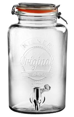 Kilner-Drinks-dispenser-m.-tappehane-Orginal-5-Liter