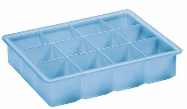 Lurch-isterningebakke-blå-silikone-4x4