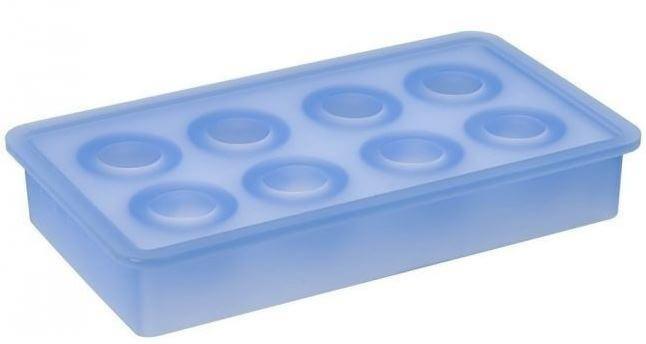 Lurch-isterningebakke-blå-silikone-ø33