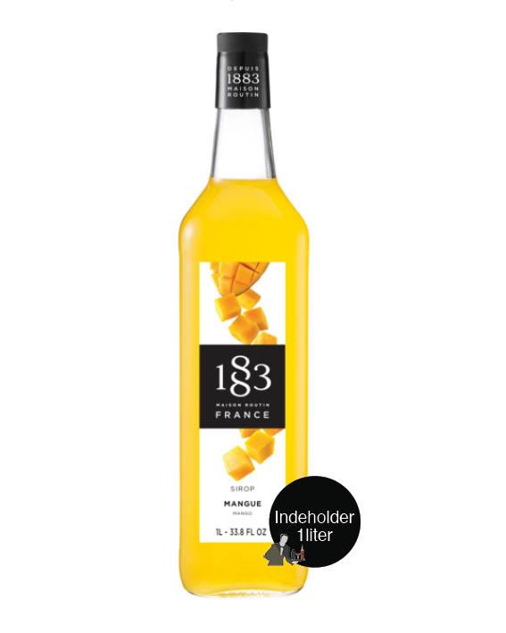 Mango-sirup-gin-hass-1883-routin-mixmeister.dk