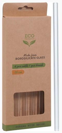 miljø-venlige-sugerør-i-glas-med-rengøringsbørste-genanvendelig-flot-pakke-alt-til-festen-Eco-mixmeister