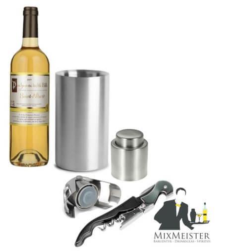 mixmeister-vin-sæt-med-køler-prop-champagne-proptrækker-stopper-flaske-forsegler-gave