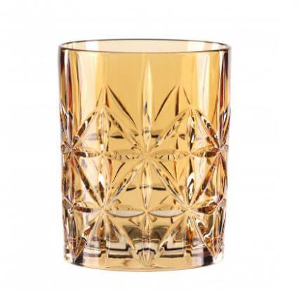 Nachtmann-Highland-Cross-Whisky-whiskey-tumbler-lowball-krystal-glas-rav-gul-orange
