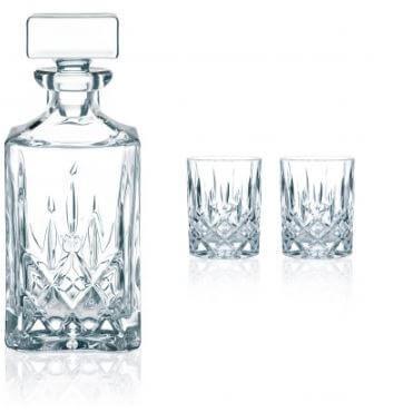Nachtmann-Noblesse-krystalglas--Old-fashioned-lowball-tumbler-whiskey-whisky-glas-decanter-dekanter-gaveæske-gave-sæt-karaffel
