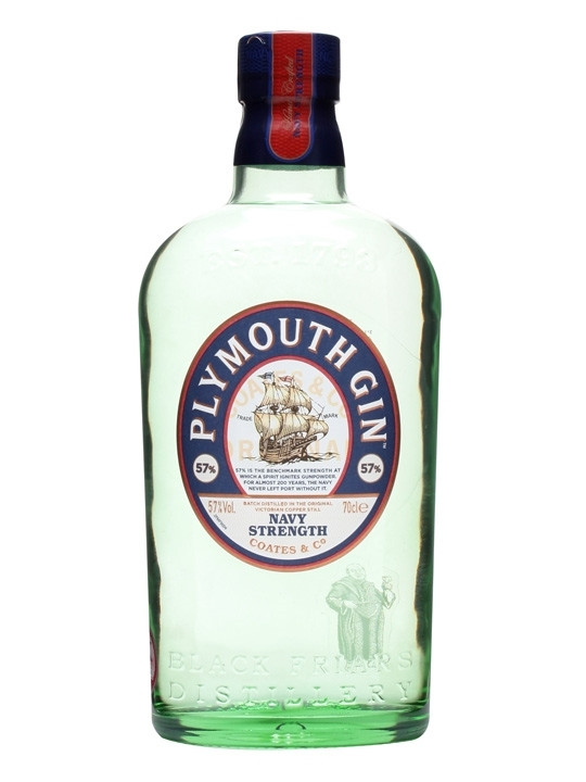 Plymouth Navy Strength Gin 57% - 70 cl.