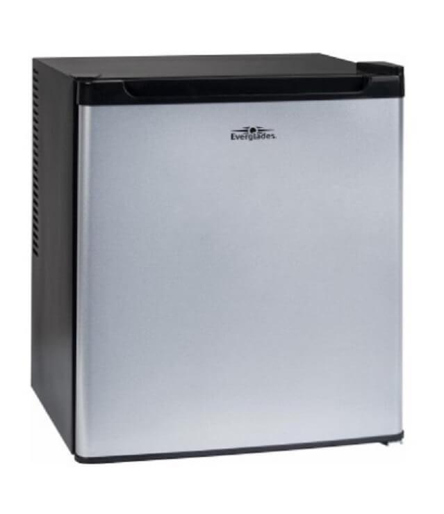 Sort-barkøleskab-everglades-hjemme-bar-lille-køleskab-støjsvag-mixmeister