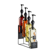 Flaske-stativ-til-4-flasker-1883-Routin-sirup-flasker-mixmeister.dk