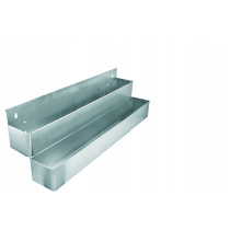Speed Rack Dobbelt metal - 2x8 flasker