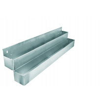 Speed Rack Dobbelt metal - 2x10 flasker