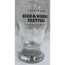 Øl og whiskey smageglas m. logo - 12 cl