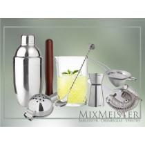 øvet-barsæt-barudstyr-shaker-mixing-glas-barske-jigger-muddler-morter-fine-strainer-lime-og-citron-presser-mixmeister.dk