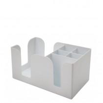 Hvid-Bar-Caddy-Plast