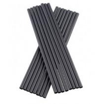 Bionedbrydelig-sorte-sugerør-uden-knæk-0,6x20-cm-100-stk.
