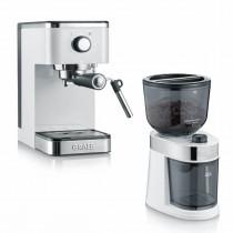 Graef-salita-hvid-espresso-maskine-kaffe-kværn-barista-udstyr-mixmxietser.dk