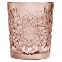hobstar-libbey-lowball-støvet-rosa-lyserød-drinks-cocktail-glas