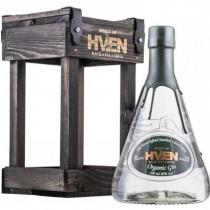 Hven-økologisk-gin-håndlavet-træ-gaveæske-mixmeister.dk