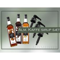kaffe-sirup-sæt-karamel-vanilje-chokolade-1883-routin-mixmeister.dk
