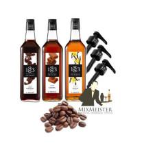 Kaffe-sirup-vanilje-chokolade-karamel-gave-sæt-med-doseringspumper-spar-20-procent-1883-routin-mixmeister