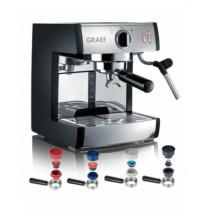 graef-komplet-pivalla-espresso-maskine-hjemme-køkken-mælkeskummer-dryp-bakke