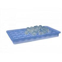 Lurch-isterningebakke-blå-silikone-ø20-Mixmeister