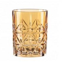 Nachtmann-Highland-Cross-Whisky-whiskey-tumbler-lowball-krystal-glas-rav-gul-orange