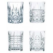 Nachtmann-Whiskysæt-4-stk-Lowball-DOF-SOF-whiskey-whisky-krystalglas-tåler-opvaskemaskine-gaveæske-gavesæt