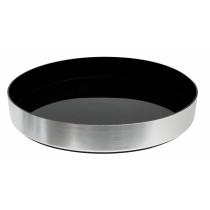 Sort-tjerner-serveringsbakke-med-høj-kant-33-cm-mixmiester.dk