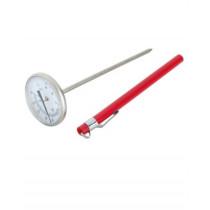 Mælke-termometer-Rustfrit stål-med-flip-bukse-kant