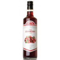 Tranebær-juice-cordial