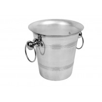 champagnekøler-med-ring-håndtag-sølv-rustfrit-stål-mixmeister