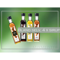 Bland selv 4 x 25 cl 1883 Routin kaffe sirup