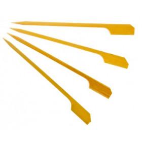 Bambus grillspyd & drinks omrøringspind 9 cm - 50 stk.