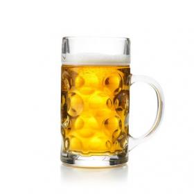 Oktoberfest ølkrus med hank 1 liter