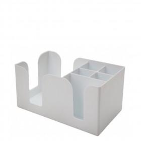 Hvid Bar Caddy - Plast