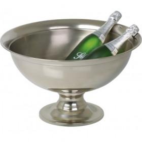 Premium Vin og Champagnebowle på høj fod 51 cm. - Forniklet