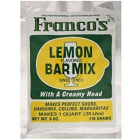 Franco's Sweet & Sour Mix Lemon - 170 g.