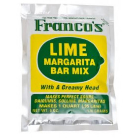 Franco's Sweet & Sour Mix Lime - 170 g.