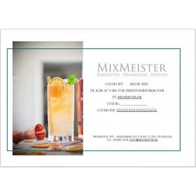 Gavekort til Mixmeister.dk - 400,-