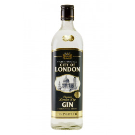 City of london, dry gin 70 cl